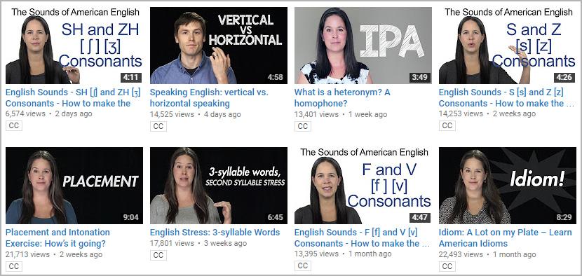 قناة يوتيوب تعلم النطق